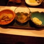 オクラ・湯葉などの前菜