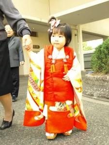 湊川神社で七五三