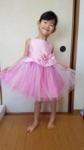 ぺプラムドレス キャサリンコテージ ピンク
