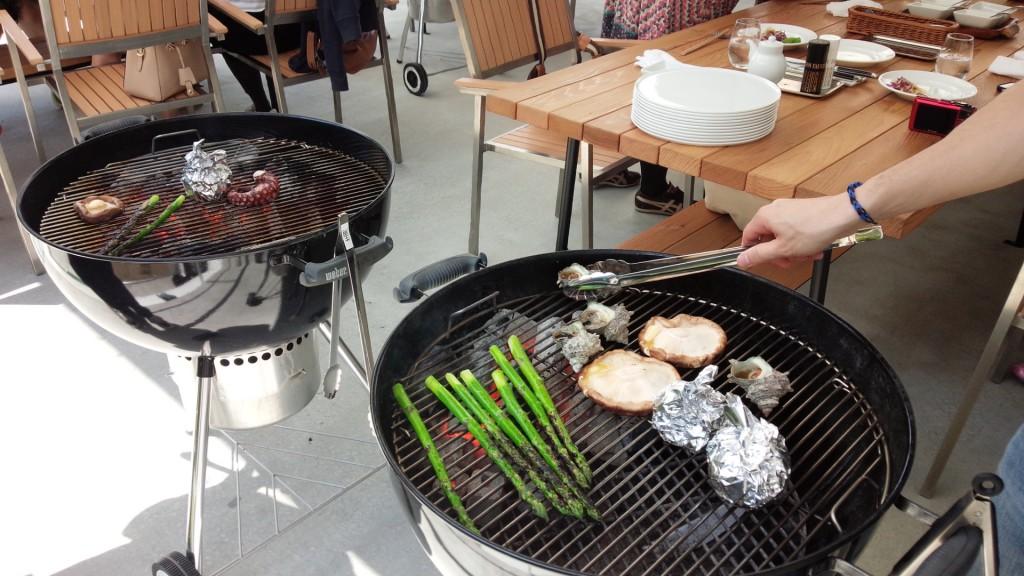 淡路ハイウェイオアシス モスタージ BBQ